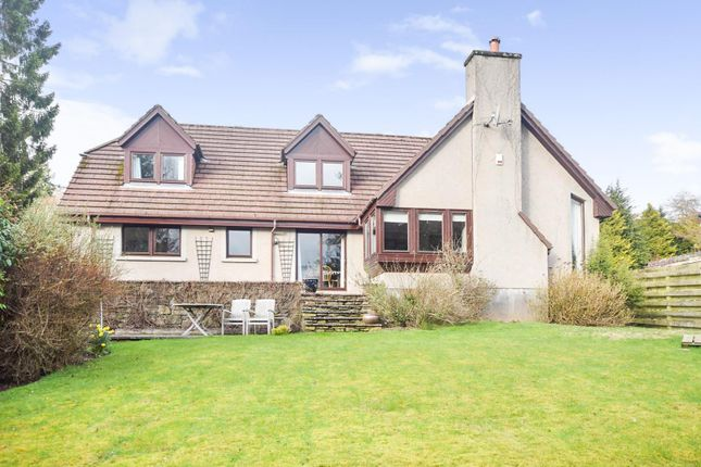 Thumbnail Detached house for sale in Highclere, Ancaster Road, Crieff