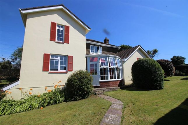 Thumbnail Detached house for sale in Prixford, Barnstaple