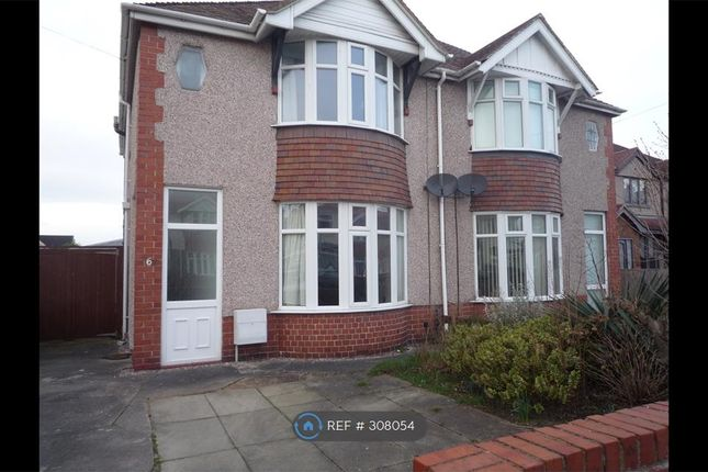Thumbnail Semi-detached house to rent in Rhyl, Rhyl