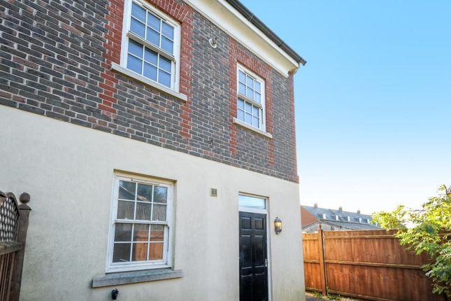 3 bed end terrace house for sale in St. Leonards Court, Wimborne Road, Blandford Forum