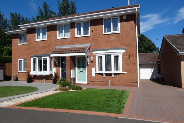 Thumbnail Semi-detached house to rent in Beechwood Close, Jarrow