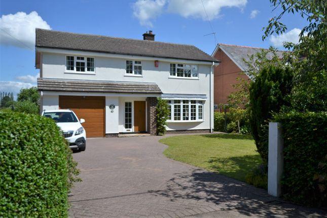 Thumbnail Detached house for sale in New Platt Lane, Goostrey, Crewe