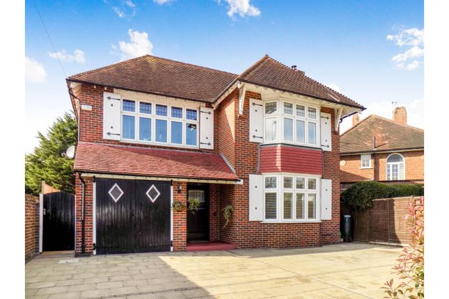 Thumbnail Detached house for sale in Broadwater Road, Worthing