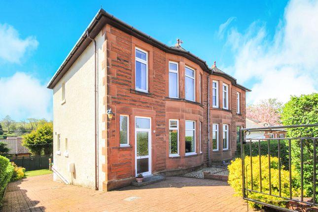 Thumbnail Semi-detached house for sale in Bradda Avenue, Burnside, Glasgow