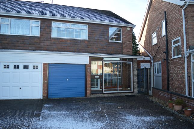 Thumbnail Semi-detached house for sale in Caernarvon Close, Willenhall
