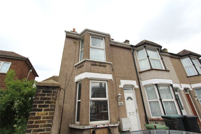 Thumbnail End terrace house to rent in Springhead Road, Northfleet, Gravesend, Kent