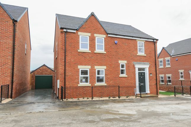 Thumbnail Detached house for sale in The Haddon, Lime Tree Park, Saltergate, Chesterfield