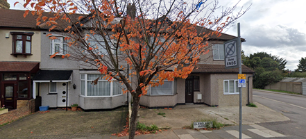 Thumbnail Terraced house to rent in Glebelands Avenue, Ilford