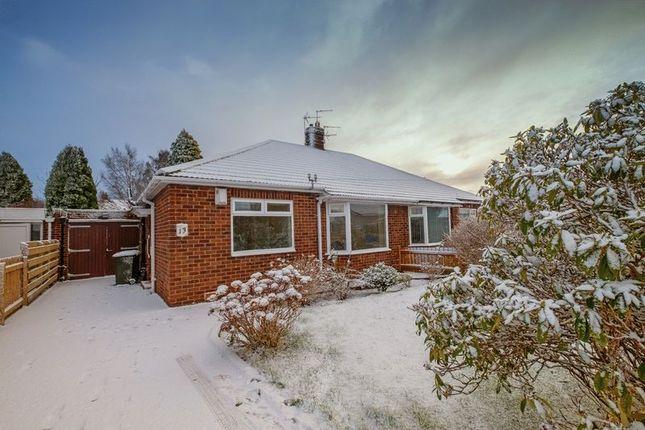 Thumbnail Semi-detached bungalow for sale in Milford Gardens, Brunton Park, Gosforth