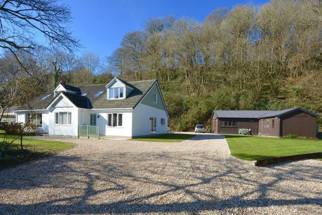 Thumbnail Detached house for sale in Marhamchurch, Bude