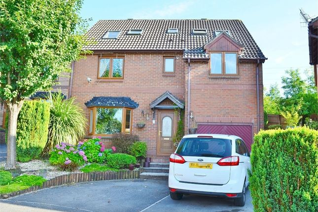 Thumbnail Detached house for sale in Clos Cae'r Wern, Castle View, Caerphilly