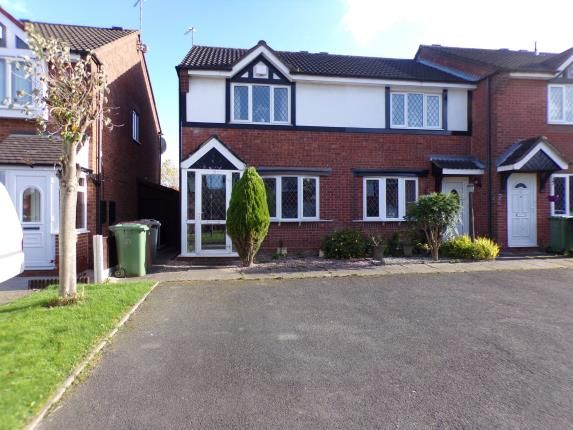 Thumbnail Terraced house for sale in Trevose Close, Walsall, West Midlands