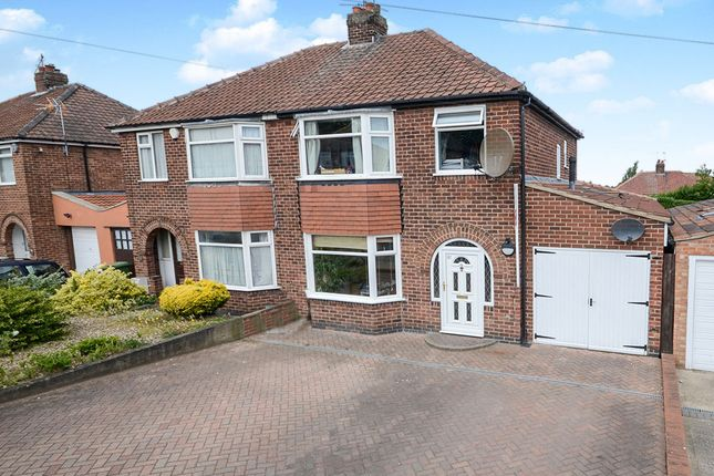 Thumbnail Semi-detached house for sale in Newland Park Drive, York