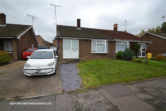 Thumbnail Semi-detached bungalow for sale in Pancroft, Abridge, Essex