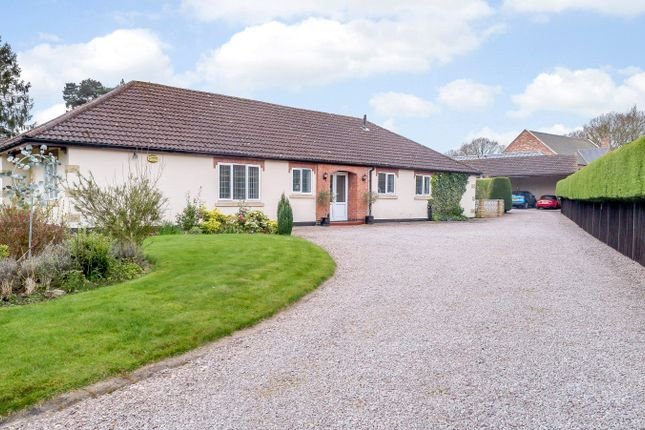 Thumbnail Detached bungalow for sale in Stonehaven, Station Field, Skellingthorpe, Lincoln