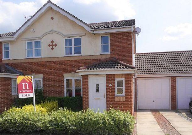 Thumbnail Semi-detached house to rent in Rainsborough Way, York
