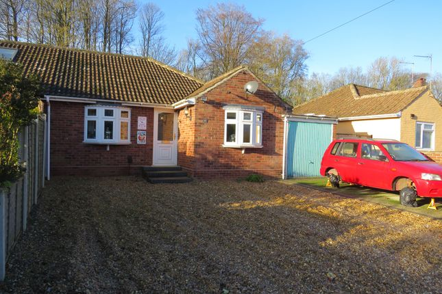 Thumbnail Semi-detached bungalow for sale in Longwater Lane, New Costessey, Norwich