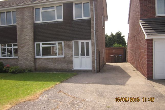 Thumbnail 3 bed terraced house to rent in Parklands Road, Tean