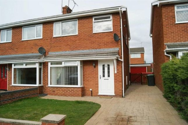 Thumbnail Semi-detached house to rent in Mere Crescent, Wrexham