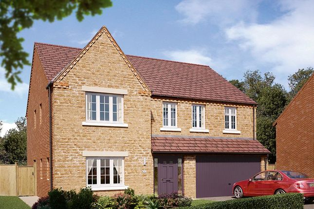 "Thumbnail Detached house for sale in ""The Kirkham"" at Boughton Road, Moulton, Northampton"
