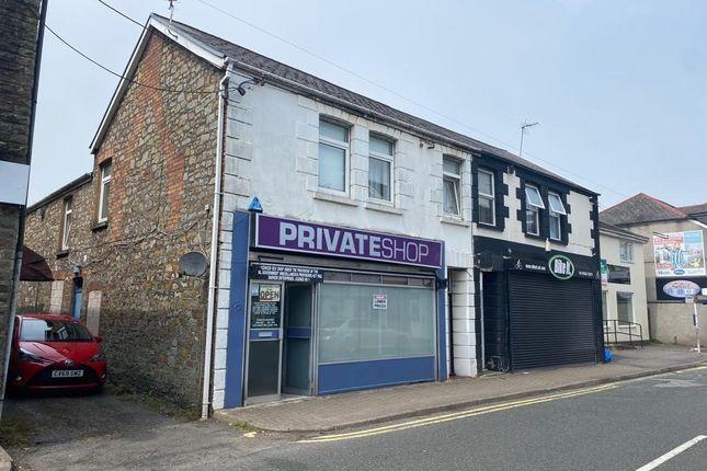 Thumbnail Retail premises for sale in 72 Bridgend Road, Aberkenfig, Bridgend