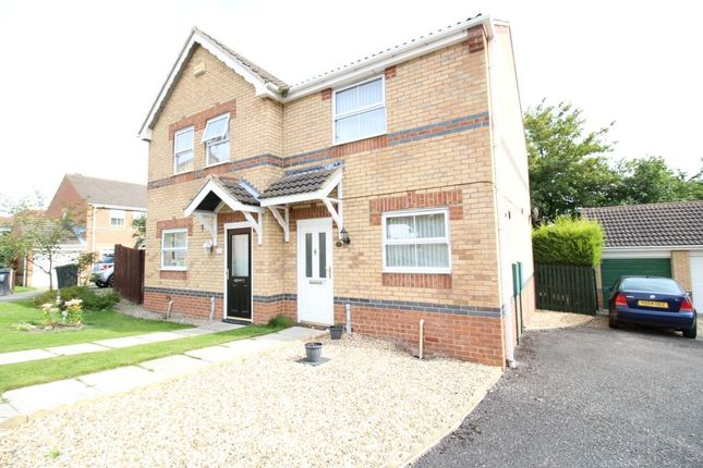 Thumbnail Semi-detached house to rent in Uplands Close, Crook