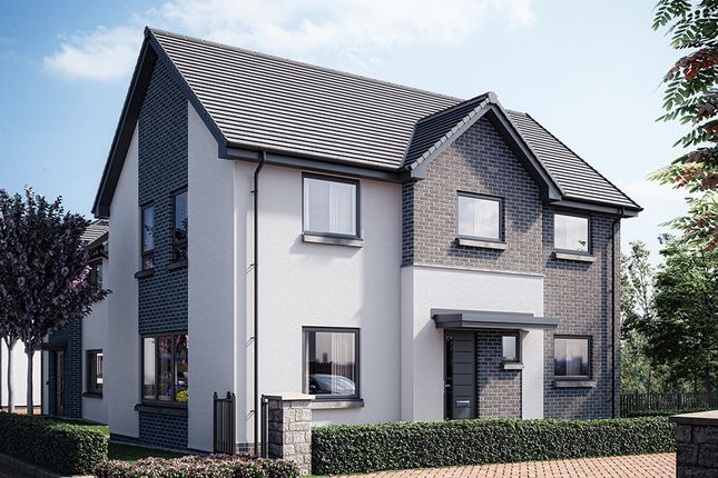 Thumbnail Detached house for sale in Glasgow Road, St Ninians, Stirling