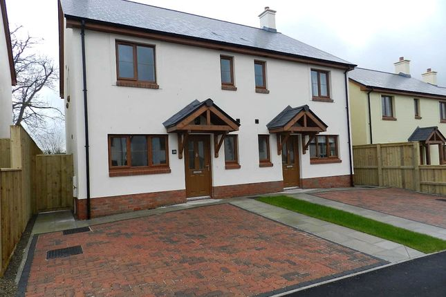 Thumbnail Semi-detached house for sale in Plot 28, The Roch, Ashford Park, Crundale