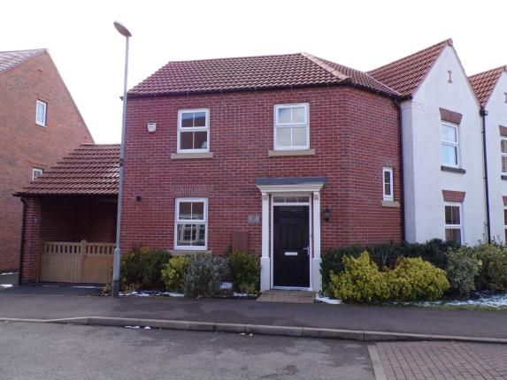 Thumbnail Semi-detached house for sale in Pickwell Drive, Syston, Leicester, Leicestershire