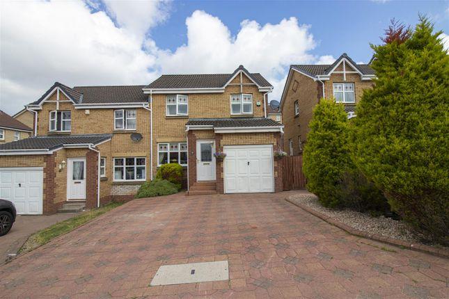 Thumbnail Semi-detached house for sale in Chatton Walk, Coatbridge