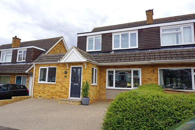 Thumbnail Semi-detached house for sale in Lower Innings, Hitchin
