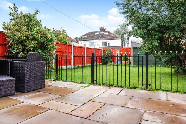 Rear Garden of Campbell Drive, Liverpool L14