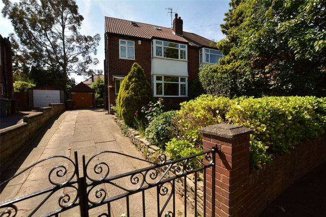 Thumbnail Semi-detached house for sale in Becketts Park Crescent, Leeds, West Yorkshire