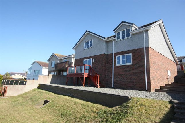 Thumbnail Detached house for sale in Glan Y Don Parc, Bull Bay, Amlwch