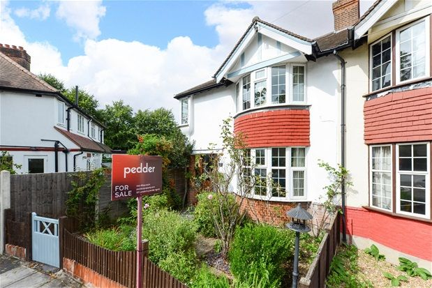 Thumbnail Semi Detached House For Sale In Sydenham Park Road London