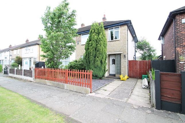 Thumbnail Semi-detached house to rent in Kingsway Park, Urmston, Manchester