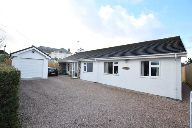 Thumbnail Detached bungalow for sale in Warwick Road, Bude, Cornwall
