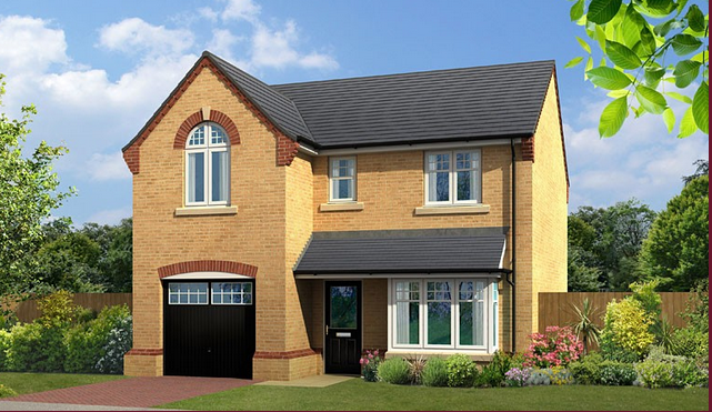 Thumbnail Detached house for sale in The Windsor, Calverley Road, Farsley, Pudsey