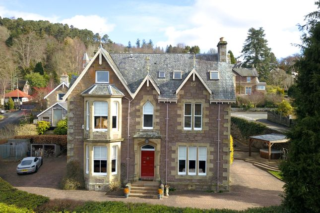 Thumbnail Detached house for sale in Comrie Road, Crieff