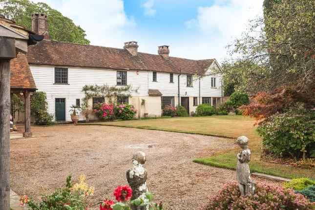 Thumbnail Detached house for sale in High Street, Cowden, Edenbridge, Kent