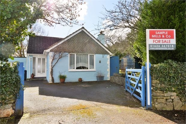Thumbnail Detached bungalow for sale in Orchard Close, Denbury, Newton Abbot, Devon.