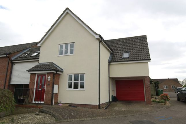 Thumbnail Detached house to rent in Bee-Orchid Way, Rockland St. Mary, Norwich