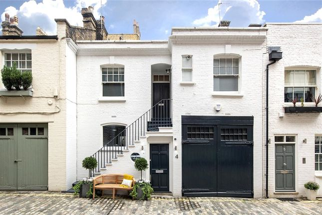 Thumbnail Mews house for sale in Dunstable Mews, Marylebone Village, London