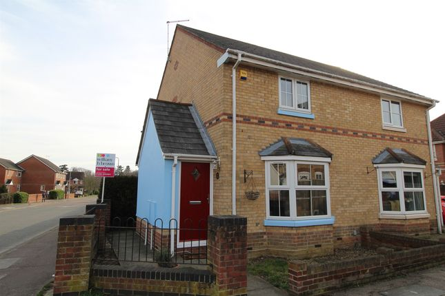 Thumbnail Semi-detached house for sale in Derwent Road, Highwoods, Colchester