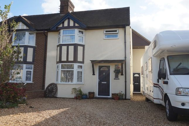 Thumbnail Semi-detached house for sale in Station Road, Henlow