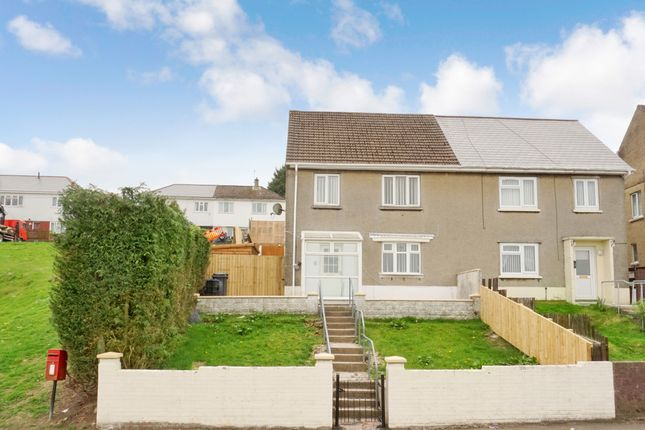 Thumbnail Semi-detached house for sale in Bryn Deri, Ebbw Vale, Gwent, Blaenau Gwent