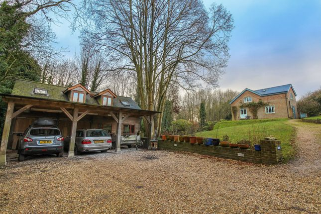 Thumbnail Detached house for sale in Wherwell, Andover