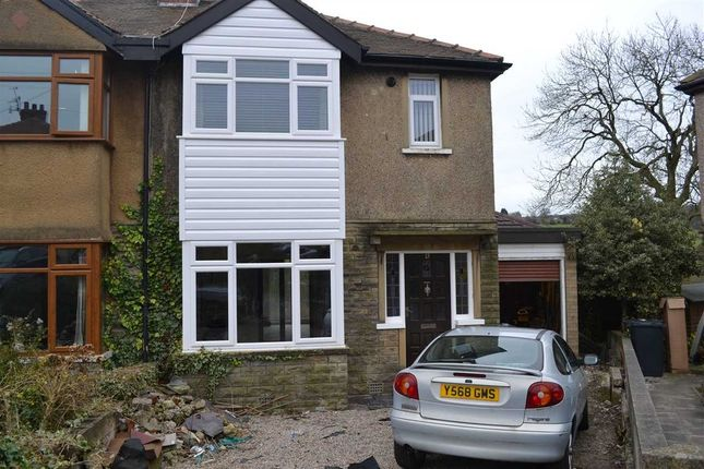 Thumbnail Semi-detached house for sale in Leaventhorpe Grove, Thornton, Bradford