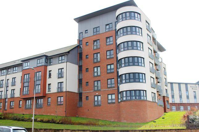 Thumbnail Flat for sale in Kincaid Court, Greenock