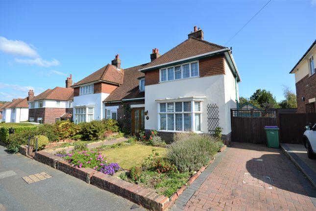 Thumbnail Semi-detached house for sale in Surrenden Road, Cheriton, Folkestone